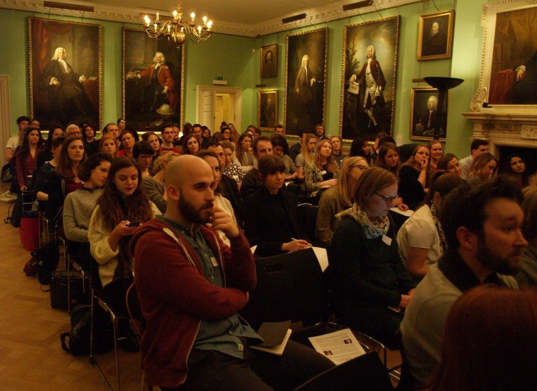 Pictures of our 'Fundraising in the Arts' talk - YPIA Blog