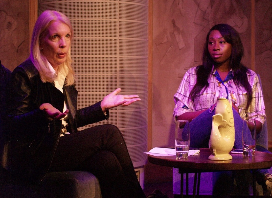 Pictures of our talk with Amanda Nevill and Bola Agbaje - YPIA Blog