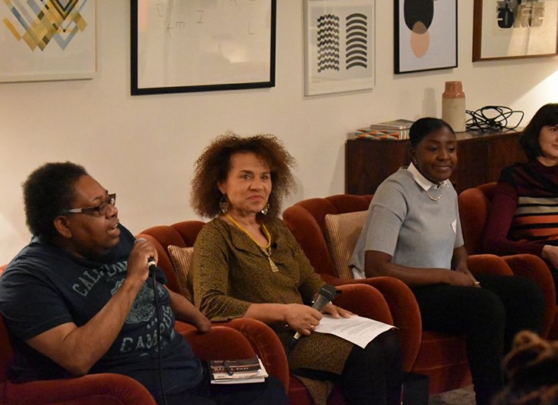 Pictures of 'Diversity in the Arts Workforce' talk - YPIA Blog