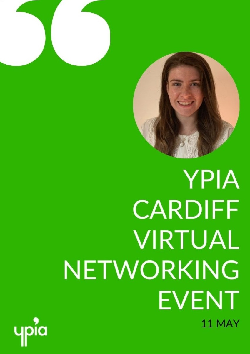 YPIA CARDIFF: VIRTUAL NETWORKING - YPIA Event