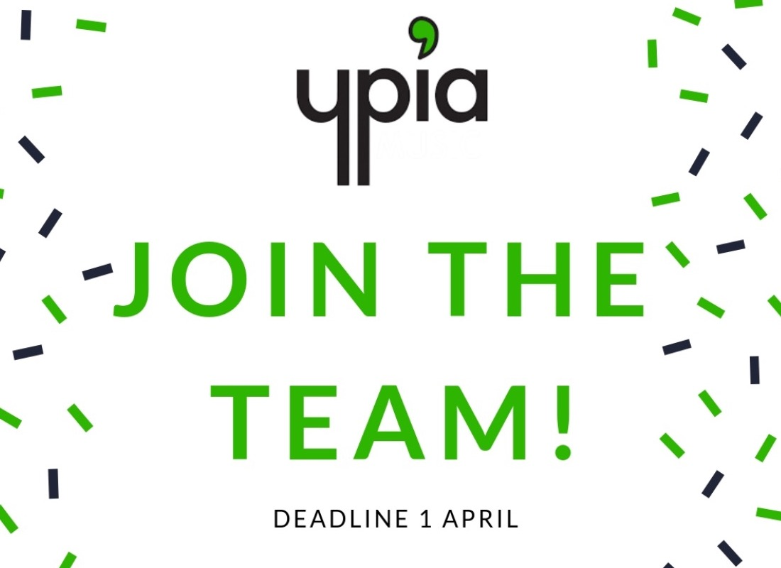 WE'RE HIRING! - YPIA Blog
