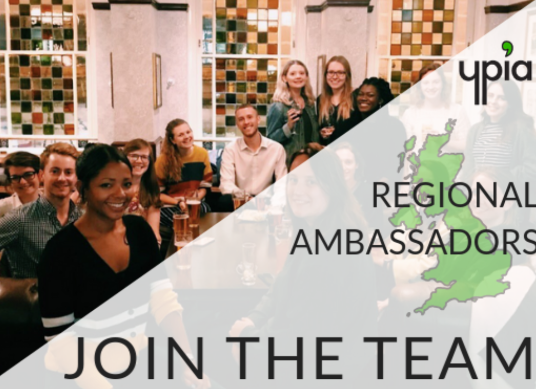 Regional Ambassadors Recruitment 2020-2021 - Join the team! - YPIA Blog